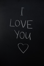 Canva - I Love You Text